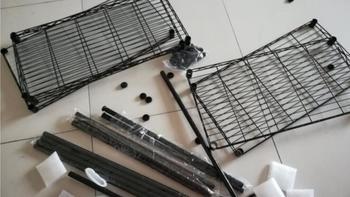 图书馆猿の心家宜(SINGAYE)厨房置物架图片展示(搁板|脚垫|优点|不足)