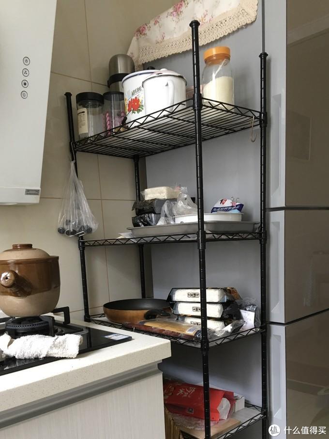 图书馆猿の心家宜(SINGAYE)厨房置物架 简单晒