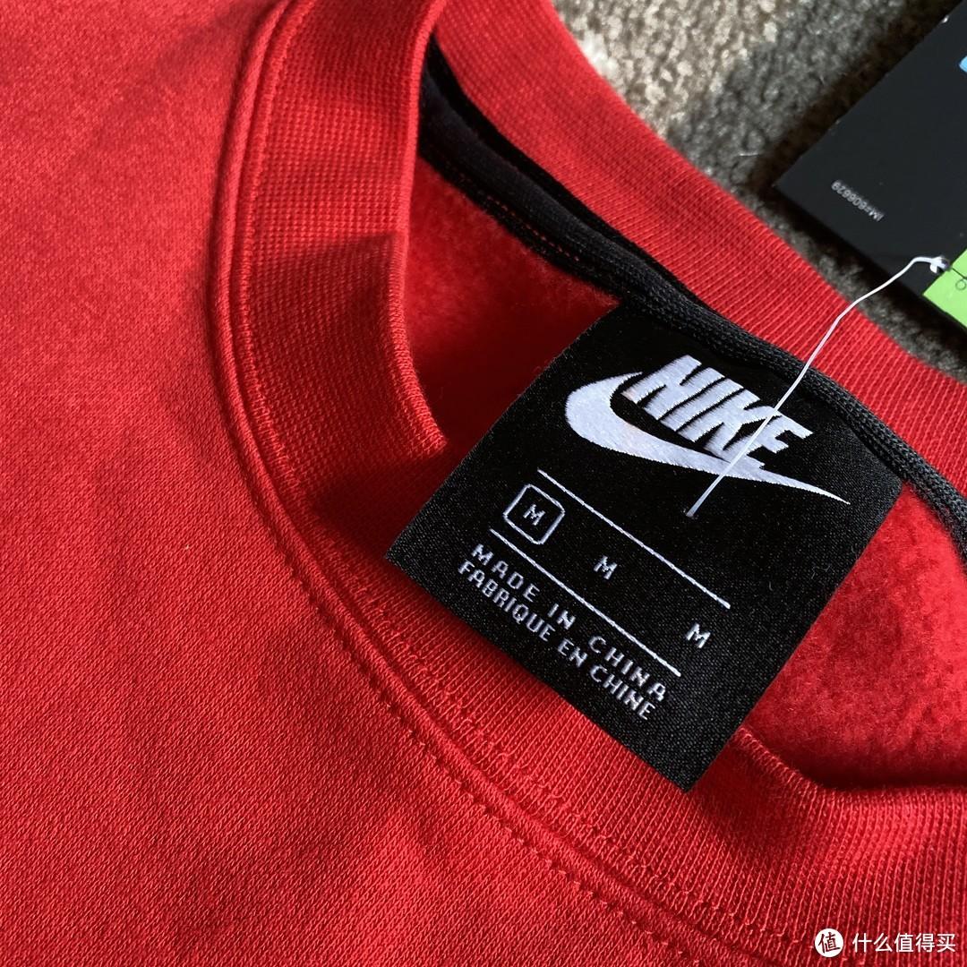 把好吃的小笼包穿身上!Nike CI7686儿童卫衣