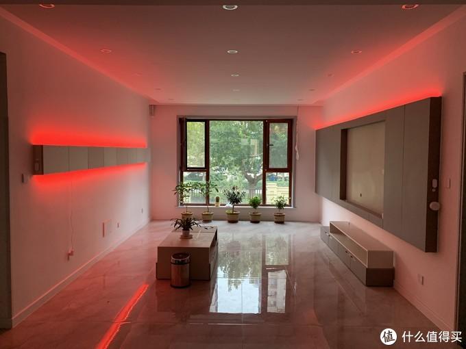 家中每一处尽是流光溢彩____灯带在家装中营造美妙氛围