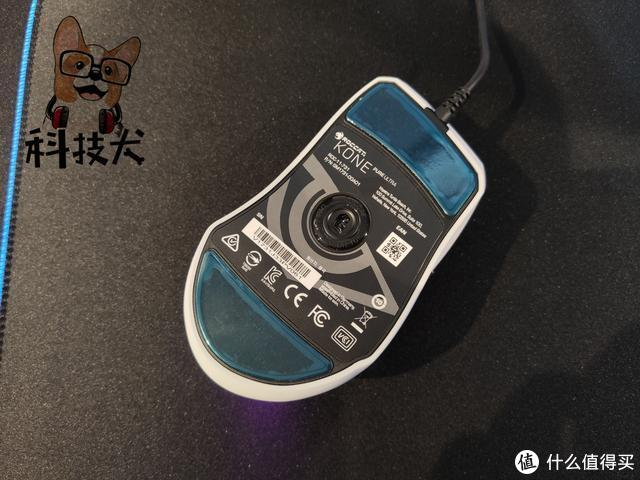 魔幻豹夜枭超轻版Kone Pure Ultra电竞鼠标图赏:仅66克配重