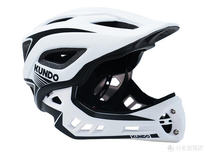 目前在用的白色版kundo全盔