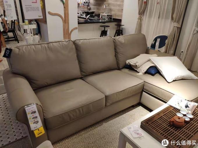 """宜家的八折?沃克托真皮沙发,是不是真""""宜家""""?"""