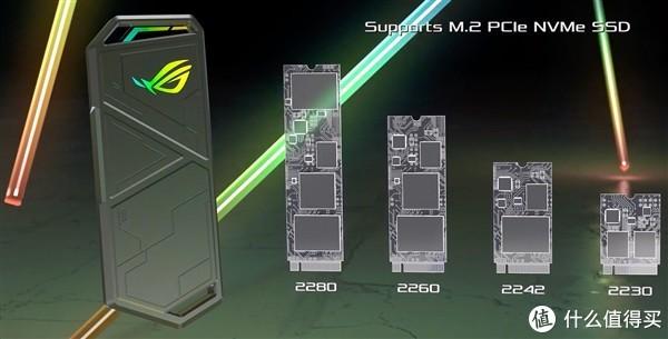 华硕展示M.2 SSD硬盘盒:ROG败家信仰