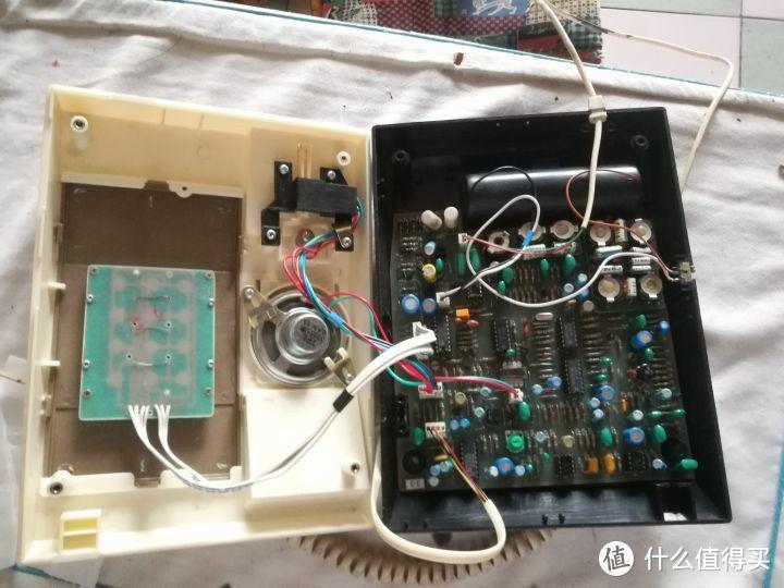 用户载波电话机拆解