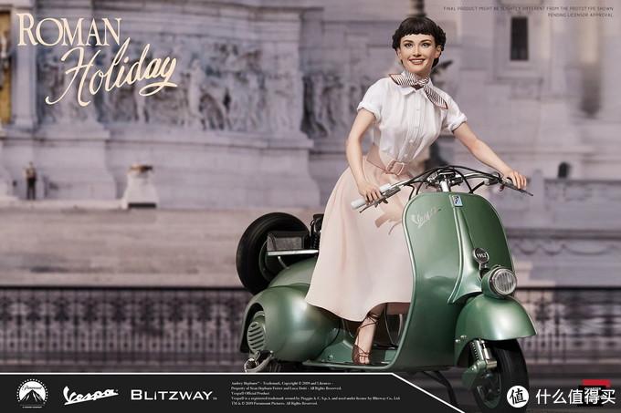 玩模总动员:Blitzway《罗马假日》安妮公主(奥黛丽·赫本)雕像开订