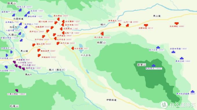 关原之战地图,来自百度百科。