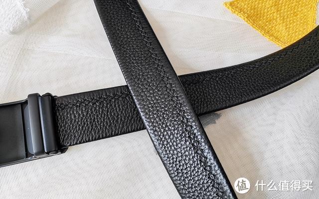小米有品连腰带都不放过,双面头层牛皮,无拼接不变形,79元值不值
