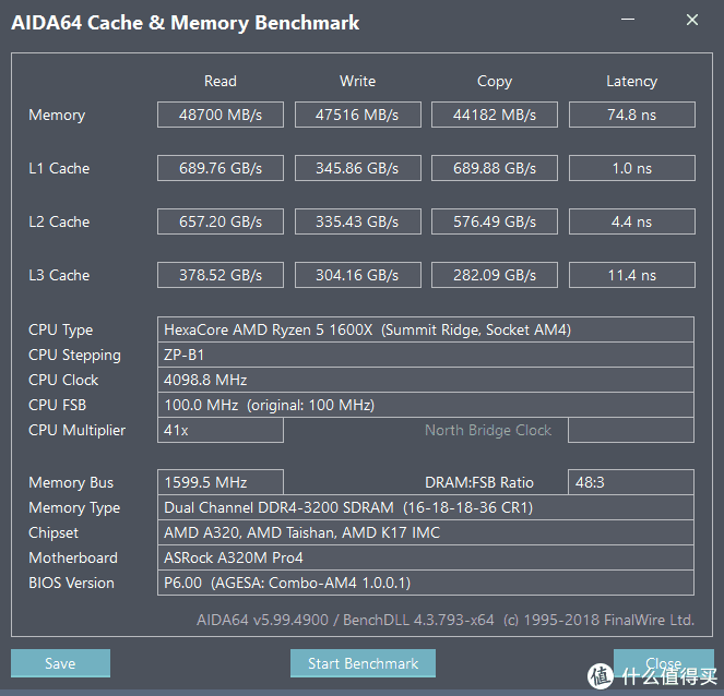 3200 16-18-18-36 1.35V 加载X.M.P预设