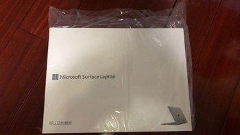 surface laptop细节展示(包装)