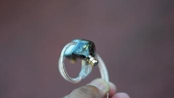 兴戈 MEETURE MT3 动圈可换线入耳式耳塞佩戴体验(耳挂|参数|声音|灵敏度)