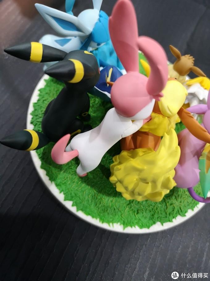 您好,您有一份蛋糕需要查收_MegaHouse精灵宝可梦伊布合集手办开箱