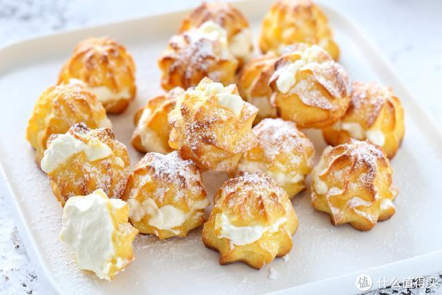 美味的奶油泡芙在家就能做,口感细腻香甜,再也不用去外面买了