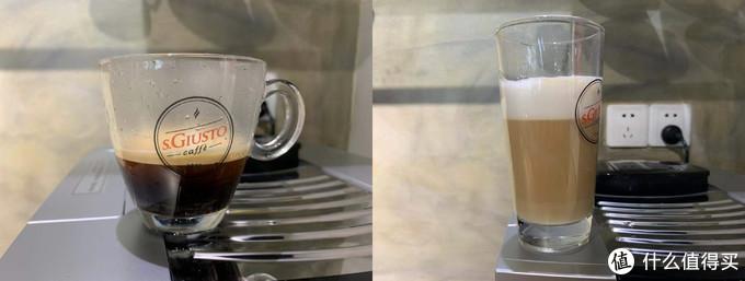 全自动咖啡机的意式咖啡和卡布奇诺——圣图M5-2