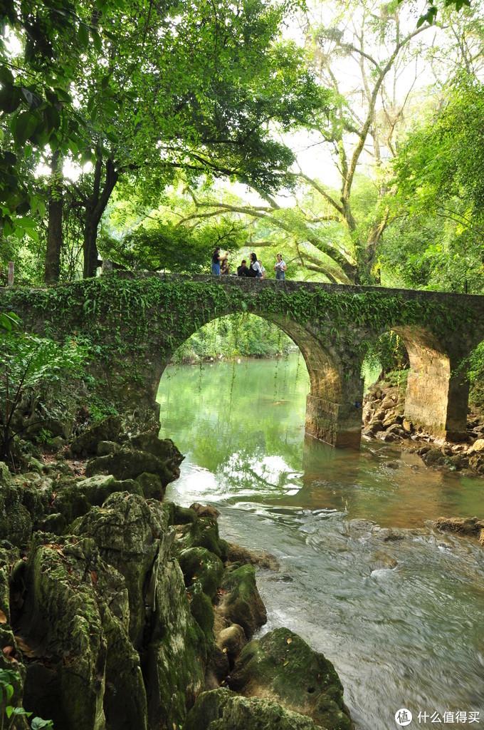 二郎瀑布,就那么加上我们的到来还就几个游客,古桥,古树,流水,安静的环境美如画卷