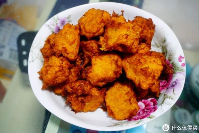 素丸子做出炸鸡块的样子,除了靠索尼,也要靠厨艺啊