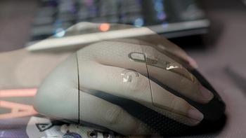 罗技G604无线游戏鼠标使用体验(手感|传感器|游戏|设置|游戏)
