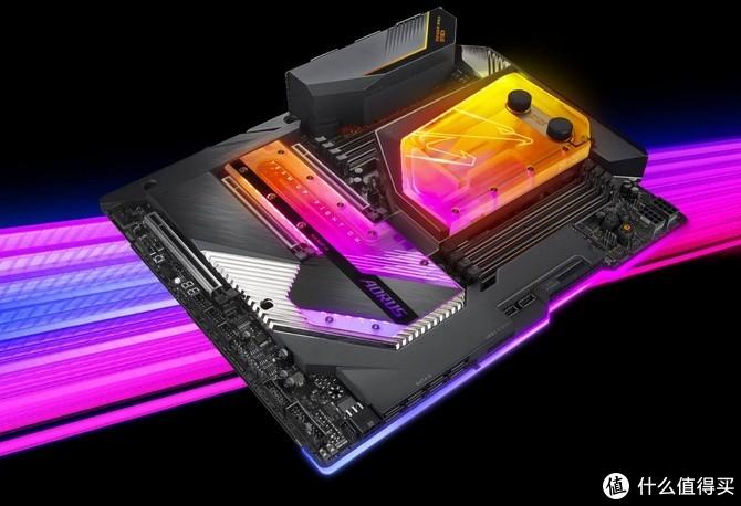 """10代Core-X座驾:技嘉 发布 X299X AORUS XTREME WATERFORCE """"水雕"""" 新旗舰主板"""