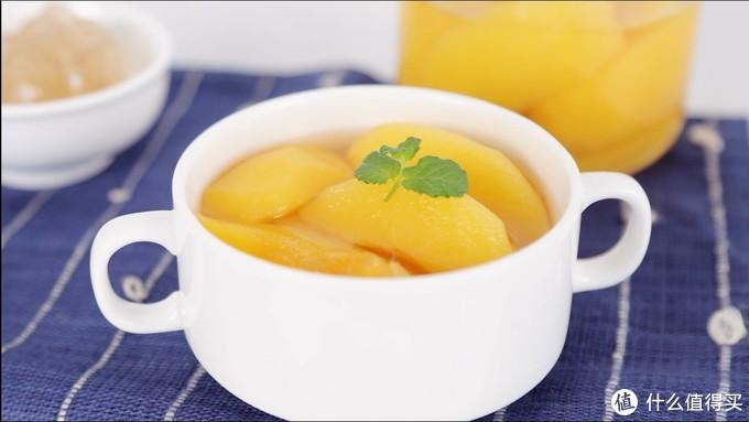 酸甜爽口-黄桃罐头