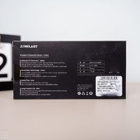 台电480G幻影系列M2固态硬盘外观图片(接口 尺寸 长度 颗粒 元器件)