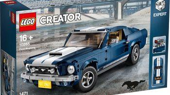 乐高创意百变高手系列10265 福特野马图片展示(卡车|轮胎|底盘|履带轮|齿轮)