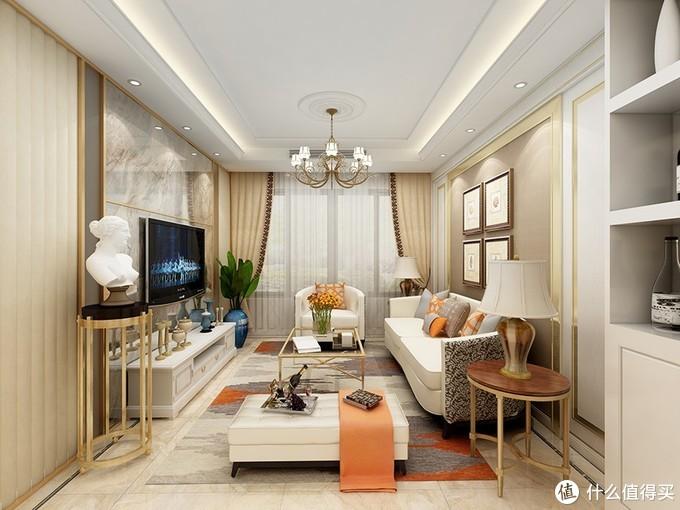 洛氏路:看完这套轻奢风格家装,终于知道N多人选择它的理由了!