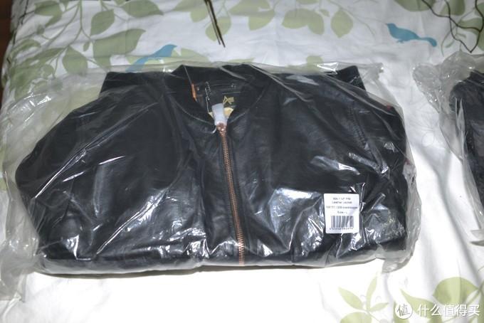 Alpha industries 欧版 MA-1 VF PM Leather Jacket