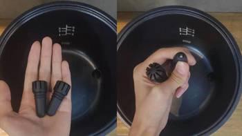 巧釜脱糖养生电饭煲使用体验(蒸笼|容量|刻度|量杯|包装)
