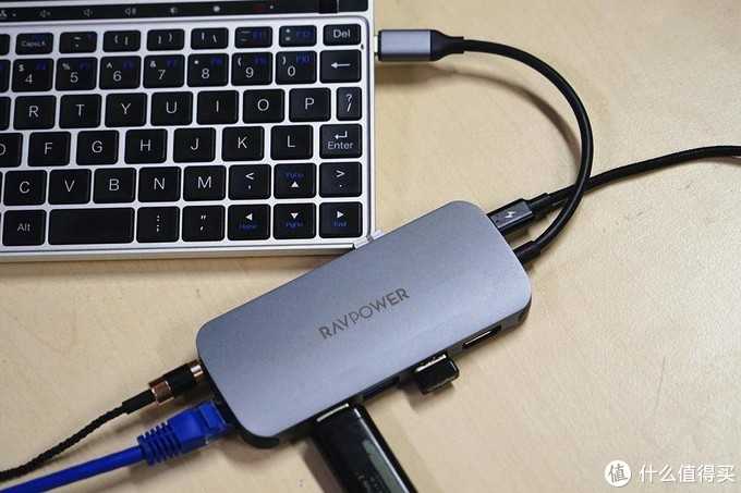 还在为笔记本接口少而烦恼?RAVPower 9合1扩展坞一个顶九个