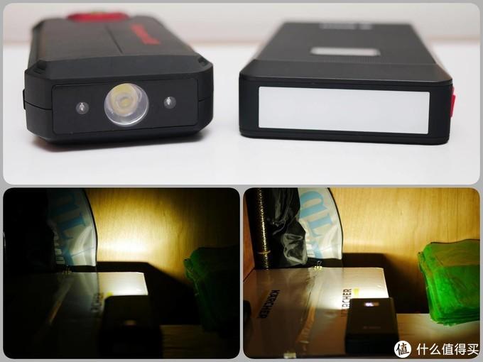 左图为纽曼的聚光灯效果,右图博世的柔光灯效果。