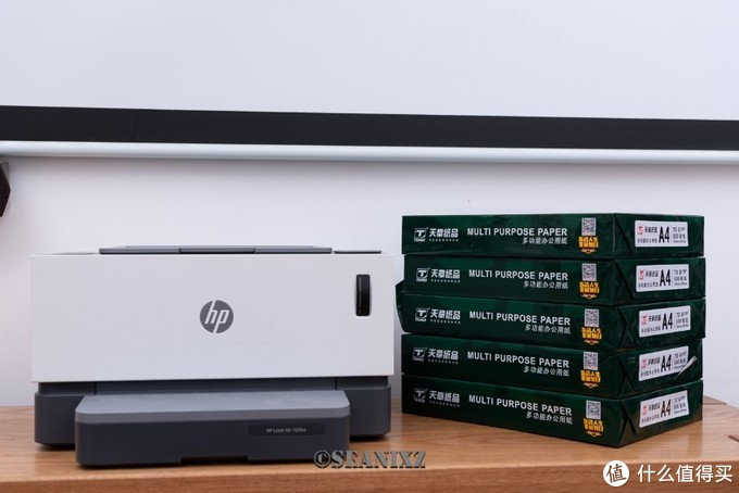 9102年的打印机都长什么样了?惠普Laser NS 1020w 使用体验