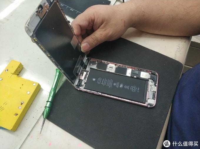 图书馆猿の钞能力更换 iPhone 6s Plus 电池
