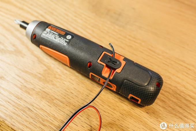工具党的小巧便携之选-百得smart push 4V 锂电螺丝刀