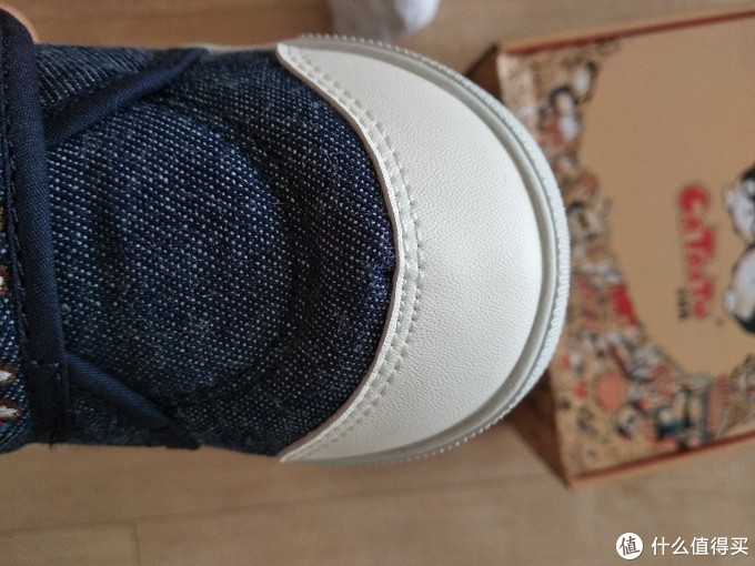 我给宝宝买的小鞋子1-卡特兔牛仔帆布鞋