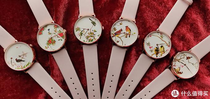 故宫94周年文创上新:鸟啼花开手表