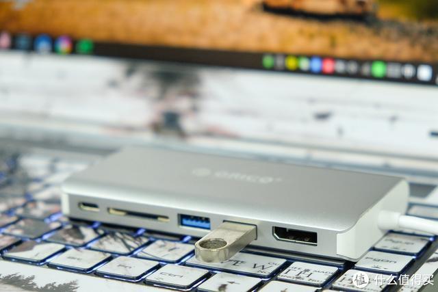 ORICO 8合1 Type-C扩展坞测评:告别笔记本接口不足!