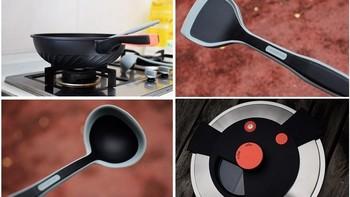 赛普瑞斯炒锅图片以及试用体验(手柄|锅盖|木铲|锅耳|锅底)