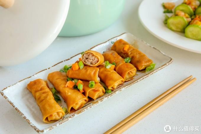 又香又鲜的豆腐皮肉卷,下饭神器~