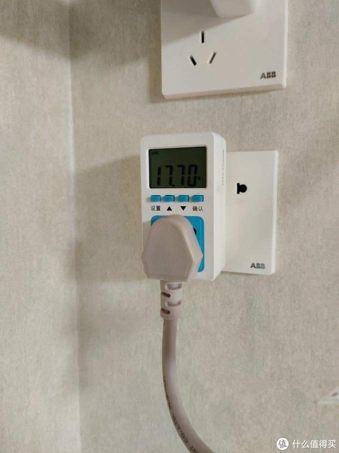 变频低负载的时候功率不足20瓦,很省电。