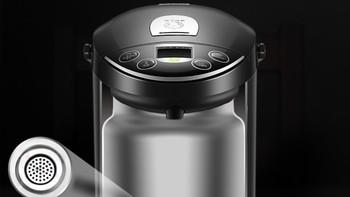 苏泊尔 SUPOR SW-50T88A 电热水瓶开箱图片(手柄|壶盖|内胆|开关|指示灯)