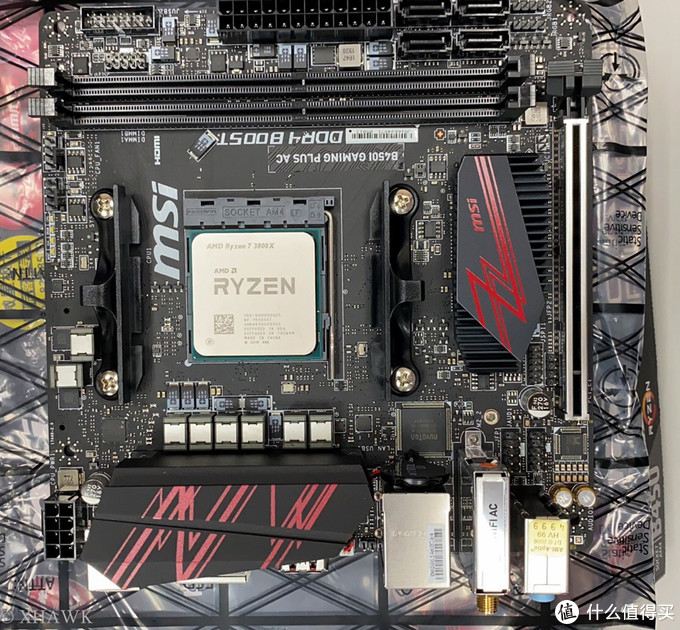 这里要批评一下,什么年代了AMD还在用针式插脚