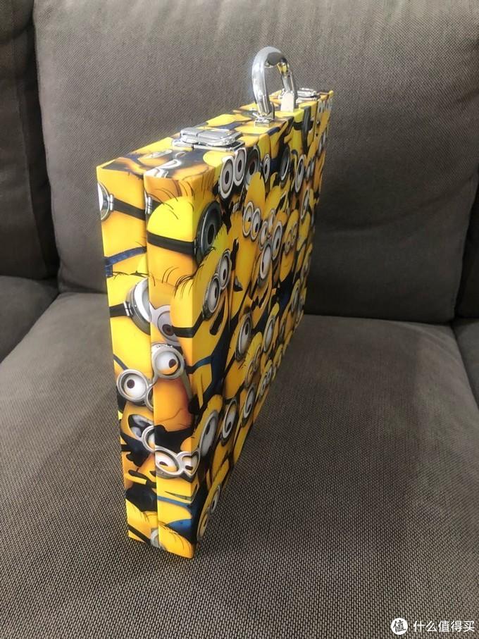 Crayola牌小黄人蜡笔、彩铅、马克笔120支套装开箱试用