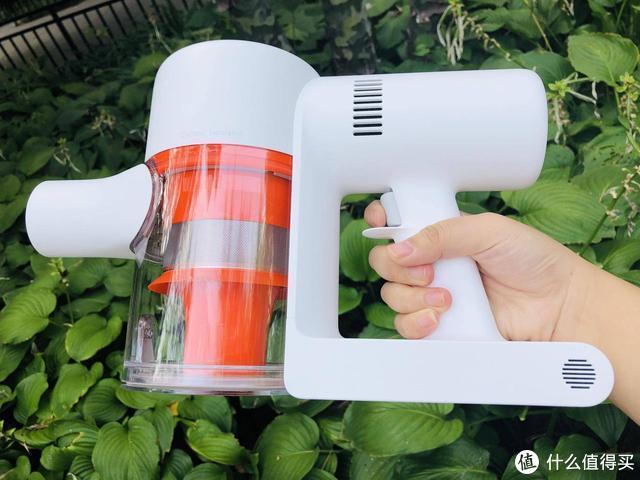 米家手持无线吸尘器1C,干活干的漂亮,关键是省心