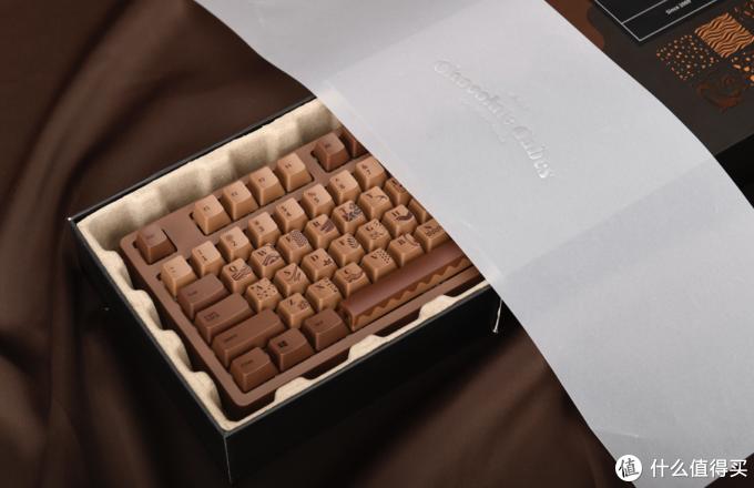 4色Cherry轴、巧克力色涂装:黑爵 推出104键机械键盘 Chocolate Cubes