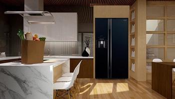 日立对开门冰箱怎样特点介绍(制冰|清洗|容量)