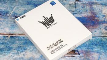 影驰HOF OC Lab极光DDR4-3600内存图片展示(散热片 材质 标签 芯片 金手指)
