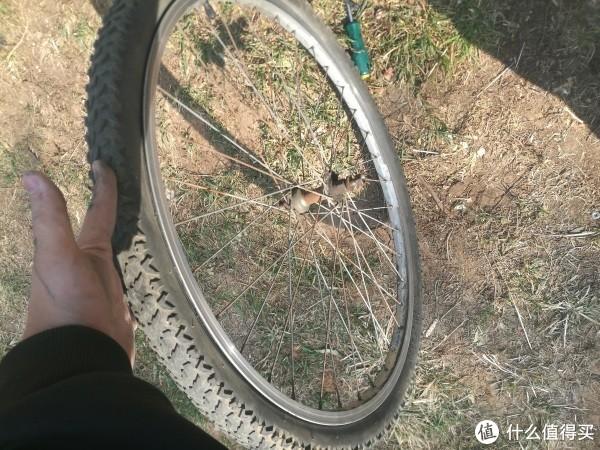 自行车换内胎+调闸教程