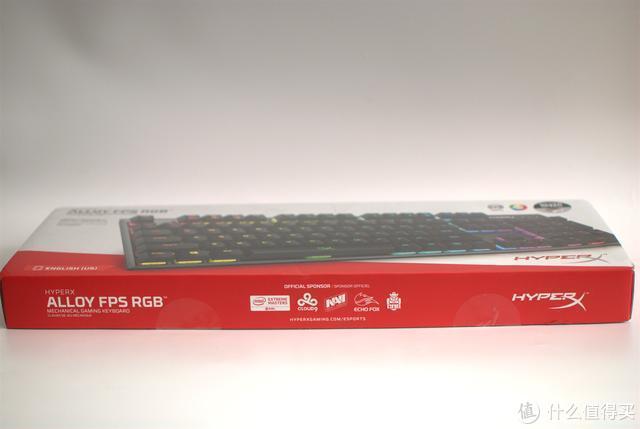游戏能手 HyperX Alloy FPS RGB阿洛伊电竞游戏机械键盘带你飞