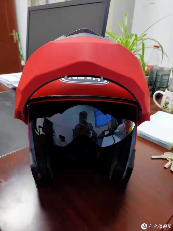 揭面盔,就是能把面部揭开吧,原谅我没深入研究,就觉得花样多
