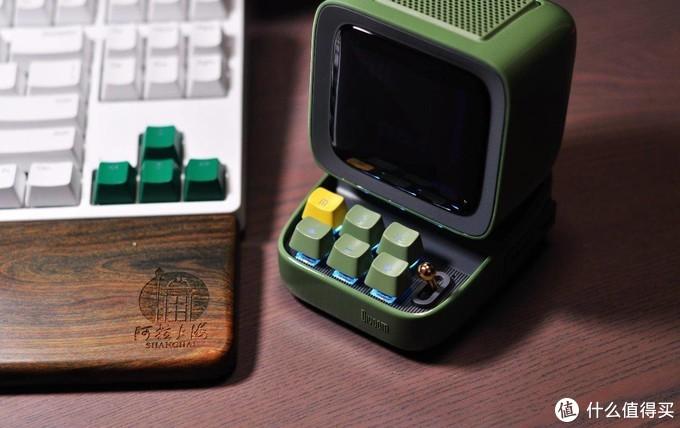 咦,这个电视机怎么还带个机械键盘,Ditoo多媒体复古音箱入手体验